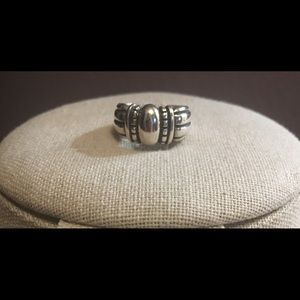 James Avery retired thatch ring size 6